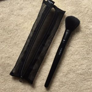 Lancôme brush and pouch